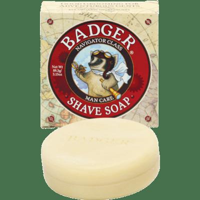 Badger Balm Shave Soap 3.15oz Tin