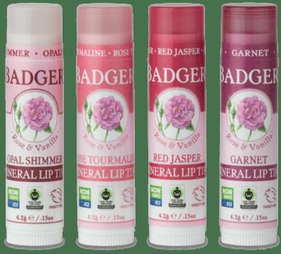 Badger Mineral Lip Tint Red Jasper