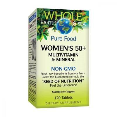 Natural Factors Women's 50+ Multivitamin & Mineral 60 Tabs