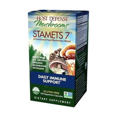 Host Defense Mushrooms Stamets 7 120 Vegetarian Capsules