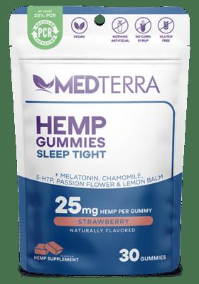 Medterra Sleep Tight Gummies 30 Count