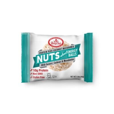 Betty Lou's Protein Plus Coconut Macadamia Nuts Energy Balls