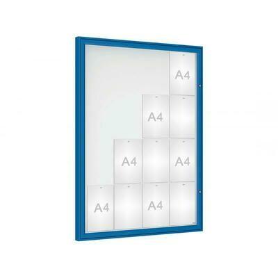 Budget Plus Single Door Classic 16 x A4 Sheets