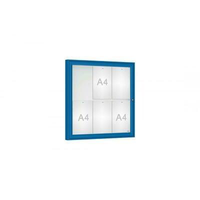 Budget Plus Single Door Classic 6 x A4 Sheets
