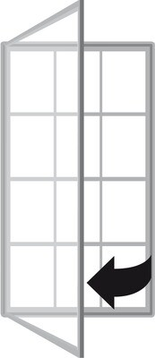 Superior Plus Double Sided Single Door 2000 2 x 12 x A4 Sheets