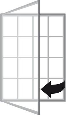 Superior Single Door 1000 16 x A4 Sheets