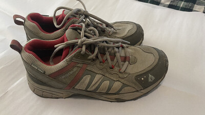 Vasque, Sz 7.5 Womens, Trail Shoes, Gray, #7579
