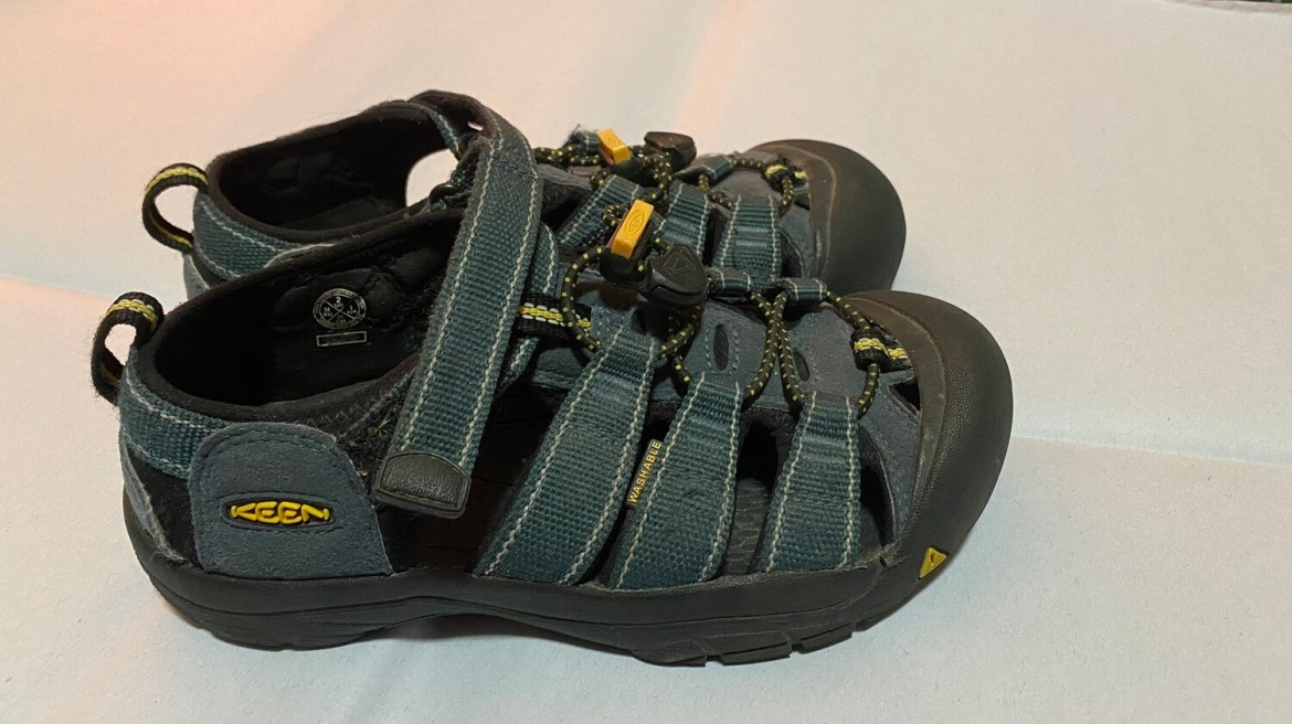 Keen, Sandals, Child Sz 2, Blue, Boys