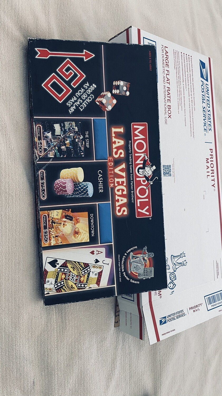a251 Monopoly, Las Vegas Board Game