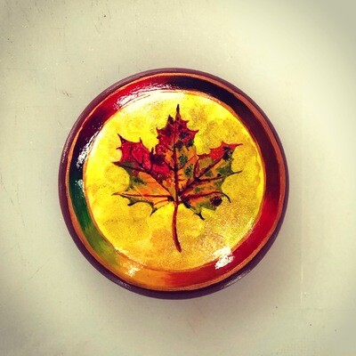 Maple Leaf Art Stone