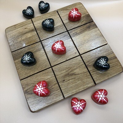 Valentine Tic Tac Toe Board Game