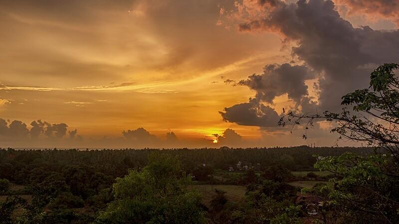 Sunset, Calangute Goa 9852