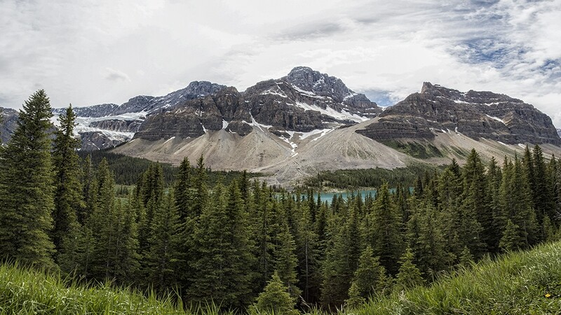 Canadian Rockies Panorama 2