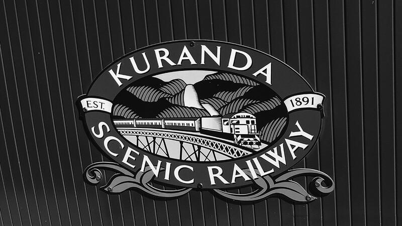 Kuranda Scenic Railway Logo, Australia