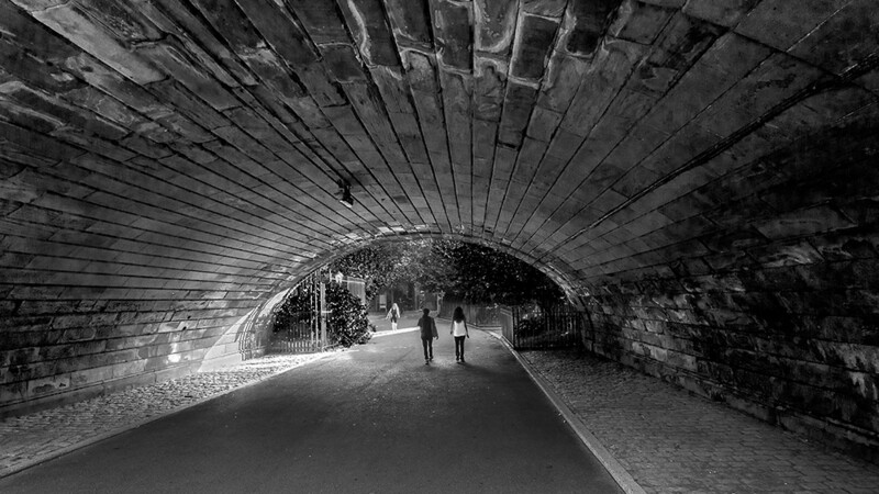 Tunnel at Central Park, New York