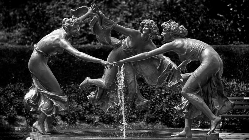Three Dancing Maidens, Central Park.