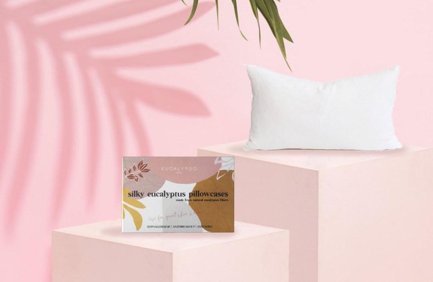 Silky Eucalyptus Pillowcases