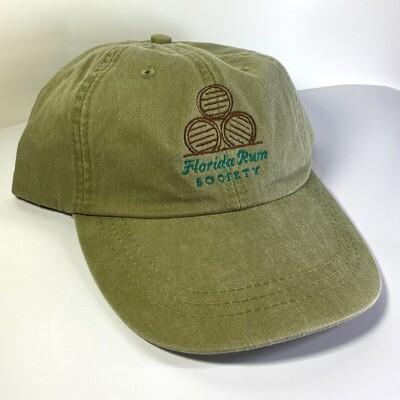 Florida Rum Society Hat - Khaki w/ Classic Logo