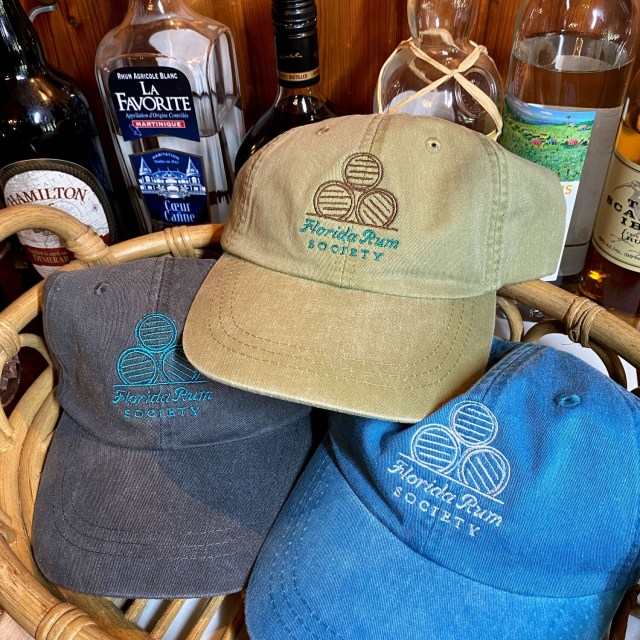 Florida Rum Society Hat - 3 Pack
