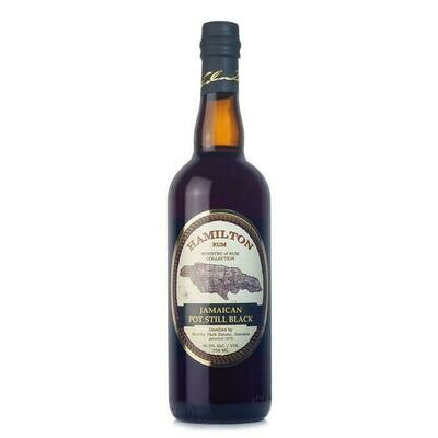 Hamilton Jamaican Black Pot Still Rum 750ml