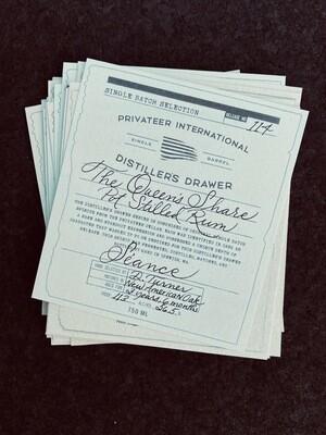 Privateer Seance Queens Share Pot Still Rum