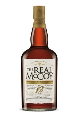 Real McCoy 12 Year LIMITED Prohibition Edition - 100 Proof - 750ml