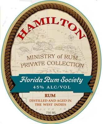 Hamilton Florida Rum Society Blend - 750mL