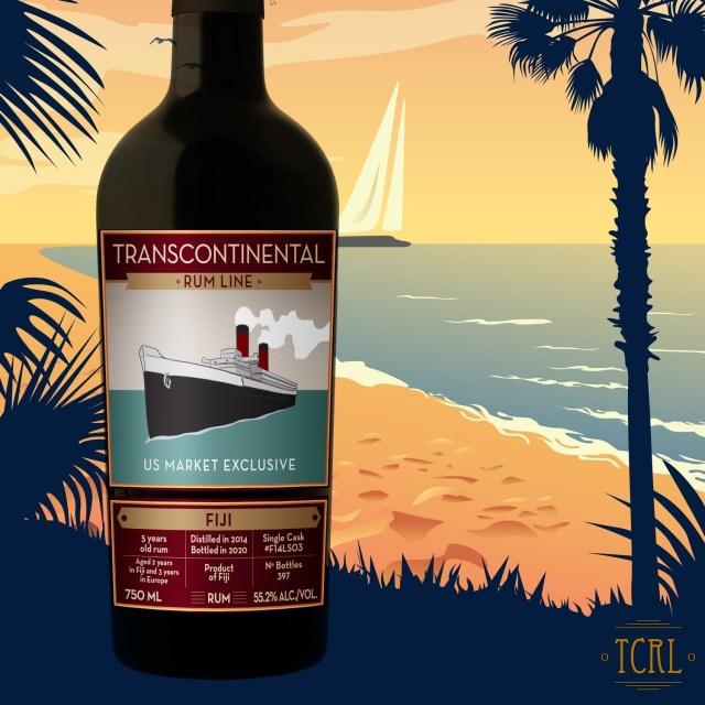 Transcontinental Rum Line - Fiji (Single Barrel)