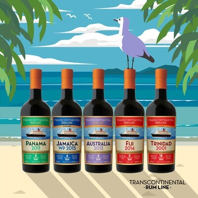 Transcontinental Rum Line - Complete set 2021 Releases