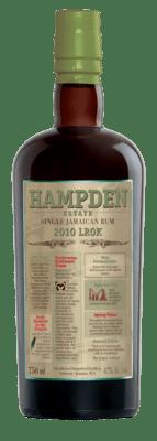 Hampden Estate LROK Single Jamaican Rum - 2010