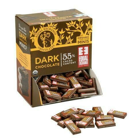 Equal Exchange MINI Dark Chocolate 3 for $1