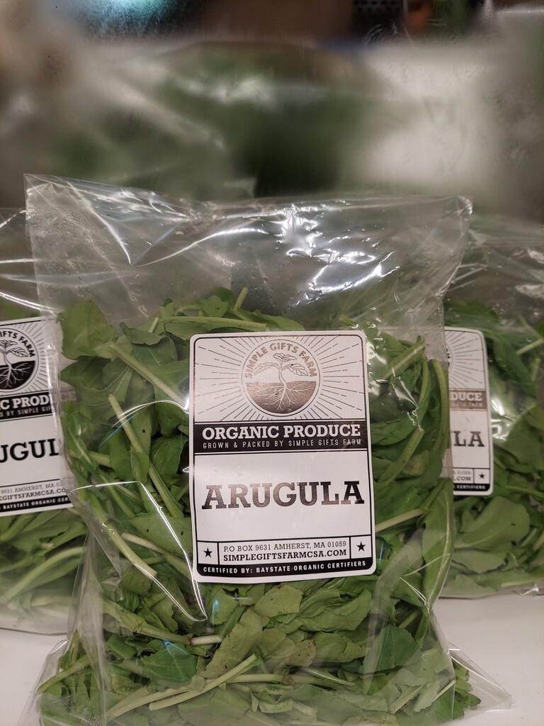 **Simple Gifts Farm Bagged Arugula