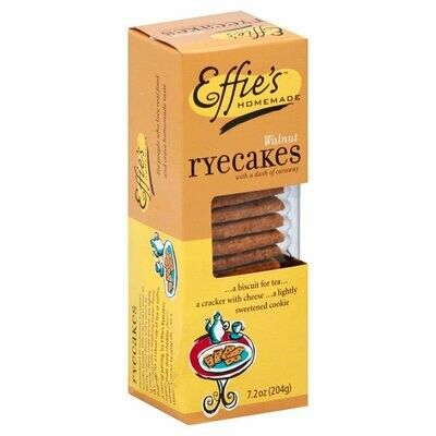 Effie's 7.2 oz box - Walnut Ryecakes