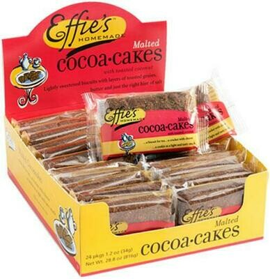** SALE! 2 for $2** Effie's Single Pack - Malted Cocoacakes