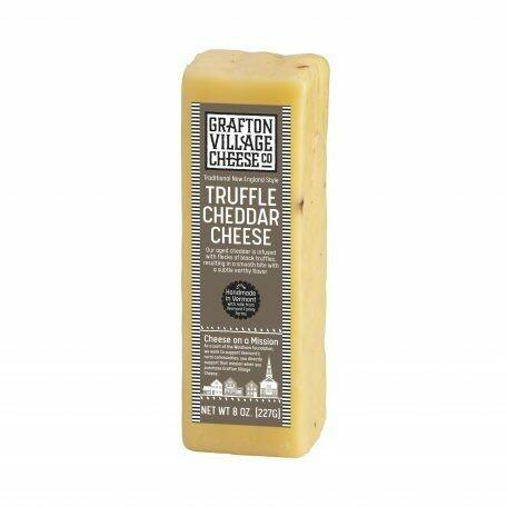 Grafton Village TRUFFLE Cheddar Cheese 8oz.