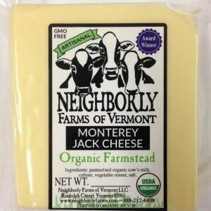 Neighborly Farms MONTEREY JACK Cheese