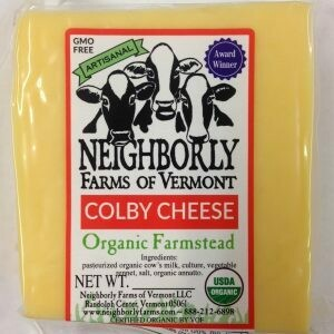 Neighborly Farms COLBY Cheese
