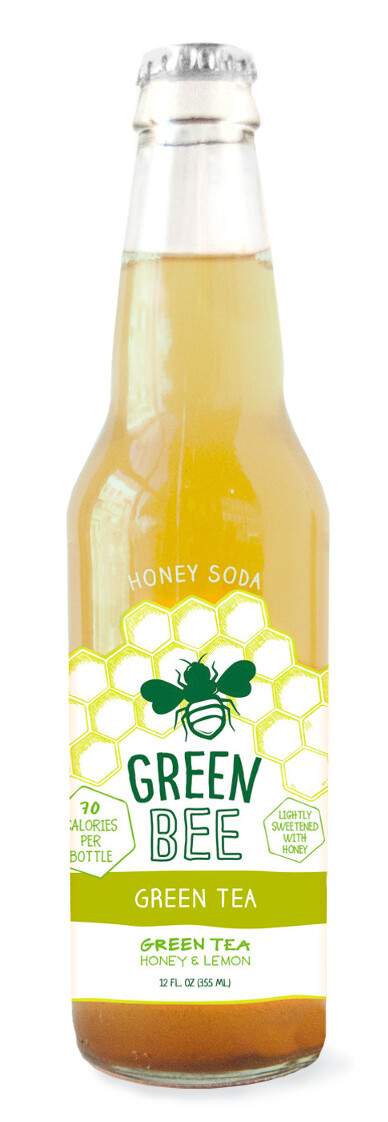 Green Bee Honey Soda - Green Tea