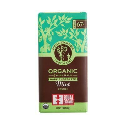 Equal Exchange Chocolate Bar - Dark Chocolate & Mint