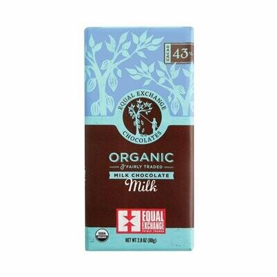 Equal Exchange Chocolate Bar - Milk Chocolate