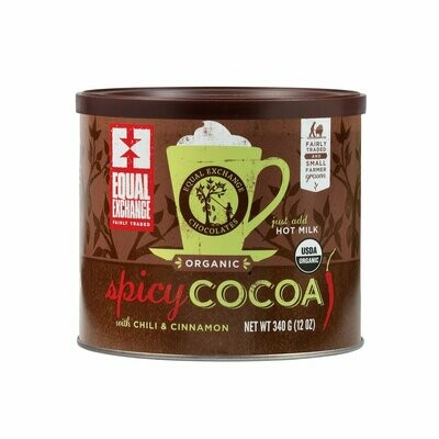 Equal Exchange Spicy Hot Cocoa 12 oz.
