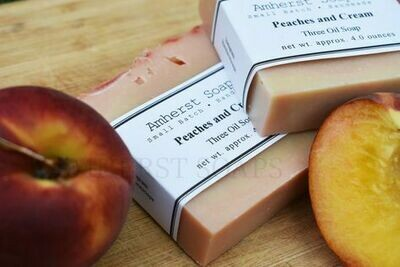 Amherst Soap Peaches and Cream
