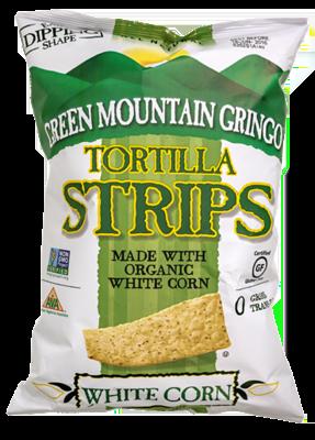 Green Mountain Tortilla Strips - White Corn