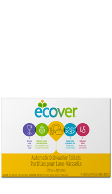 Ecover Automatic Dishwasher Tablets (Citrus)