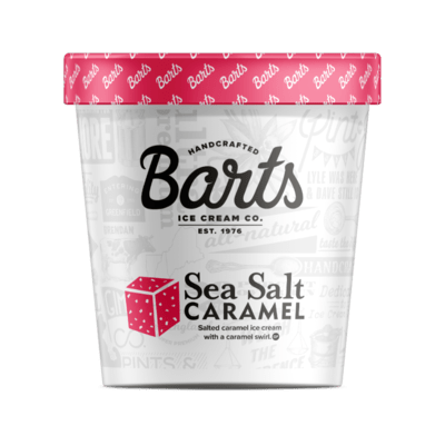 BART'S ICE CREAM - Sea Salt Caramel