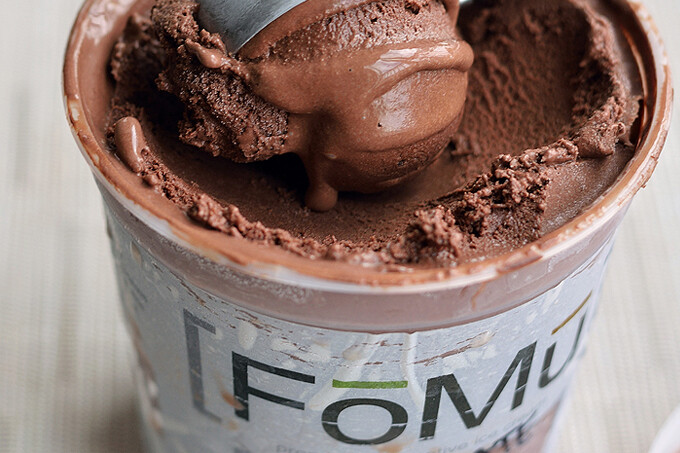 Fomu Vegan Chocolate Pudding Ice Cream