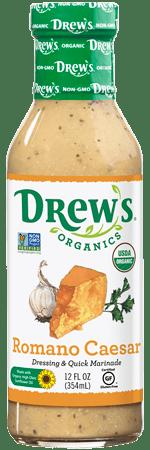 Drew's Organic Dressing - Romano Caesar
