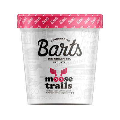Bart's Ice Cream - Moose Trails