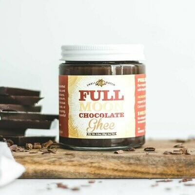 Full Moon Ghee Chocolate Ghee 4oz.