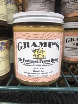 Gramp's Plain Peanut Butter